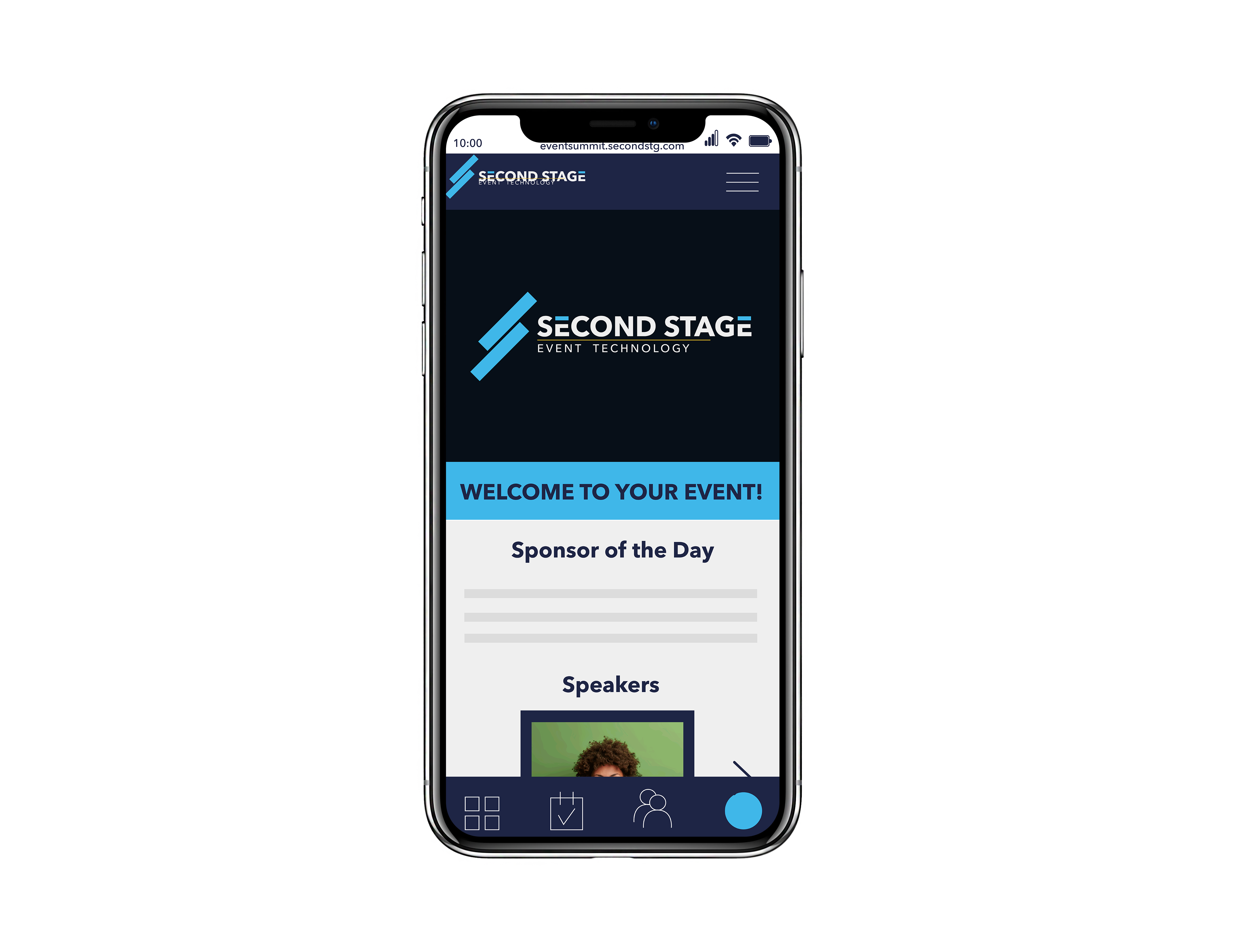 Mobile-friendly Second Stage